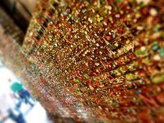 Gum Wall, Seattle WA