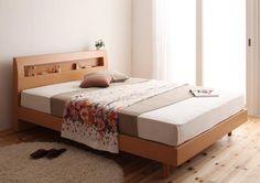 Nordic Bed 北欧ビンテージ すのこベッド シングル マットレス付 ナチュラル インテリア 雑貨 家具 Modern ¥31500yen 〆07月15日