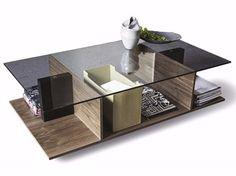 Mesa de centro con revistero integrado 9800 ALA | Mesita - Vibieffe