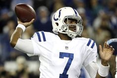 Jaguars over COLTS: Indianapolis fans may get old this year waiting for Andrew Luck. For Indy, Jacoby Brissett is serviceable, but need to see better. Andrew Luck, Football Helmets, Seo