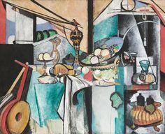 "Henri Matisse Still Life after Jan Davidsz. de Heem's ""La Desserte"" Issy-les-Moulineaux, summer-fall 1915"