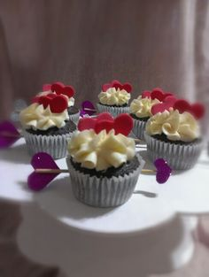 Cupcakes chocolate cupido