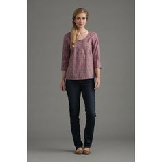 Seasalt Womens Pendower Cove Top in Daisy Trail Steel: Amazon.co.uk: Clothing