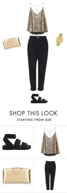 """""""Untitled #87"""" by doda-laban on Polyvore featuring Cheap Monday, Chloé, Topshop and Lacoste"""