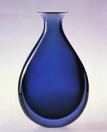 An image from the Murano Glass Museum, Venice, Italy.  I love the stunning clarity of this blue!