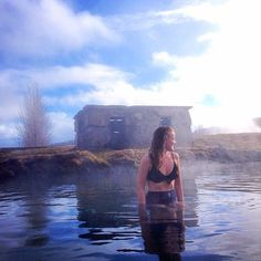 Shhhh... we have a Secret Lagoon for you. Right here in Iceland. Just waiting for you to take a dip. #iceland #icelandtravel #secretlagoon #blueskies #lp