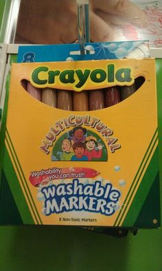 You didn't have these cool people colored markers and all your people were orange or yellow.No, but I did have the box of Crayola Crayons and I remember being very impressed with the variety of them. Are You Serious, Funny Posts, Relatable Posts, Laugh Out Loud, Make Me Smile, Did You Know, I Laughed, My Friend, Art For Kids