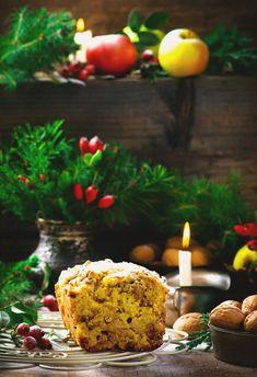 Рождественский яблочный кекс — Кулинарный Блог