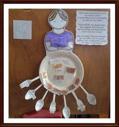 κυρα Σαρακοστή μας ,οι χαρταετοί μας!!! Arts And Crafts Projects, Clay Crafts, Projects To Try, Carnival Crafts, Carnival Costumes, Winter Crafts For Toddlers, Toddler Crafts, Lent, Paper Plates