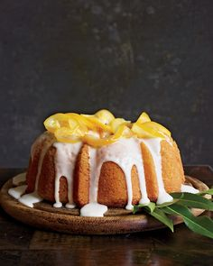 When attempting to woo his sweetheart, Gatsby ordered 12 lemon cakes, Daisy's favorite, from the local delicatessen. Try your luck with this beautiful Meyer lemon bundt cake. Get the Meyer Lemon-Yogurt Cake Recipe Lemon Desserts, Lemon Recipes, Just Desserts, Cake Recipes, Dessert Recipes, Drink Recipes, Lemon Yogurt Cake, Lemon Cakes, Lemon Coconut