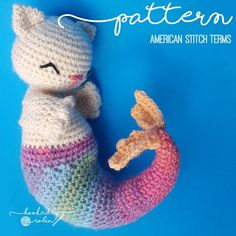 Hey, I found this really awesome Etsy listing at https://www.etsy.com/uk/listing/481146451/amigurumi-crochet-purrmaid-mermaid-cat