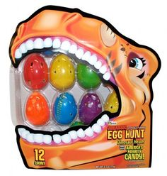 Jurassic Easter Eggs Filled with Candy 12ct.