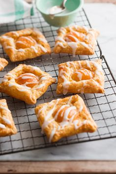 Apricot Custard Danish pastries