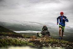 Philipp Reiter Norway, Sweden and Finnland in less than 10sec  Misty and cold weather around the border triangle today... #Tromso Skyrace #Salomon Running #TrailRunning