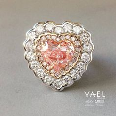 #Pinkdiamond #Love is in the air! Meet this beauty at Gold & Diamond Source tonight