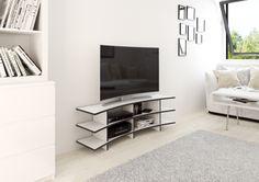Curved TV-Rack - das formbare TV-Rack für Curved-TV's. Individualisierbar auf www.form.bar