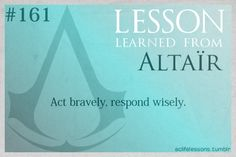 Assassin's Creed Life Lessons 161
