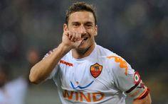 Francesco Totti; fiero di me stesso, vincere a Roma non e' semplice, il mio idolo.. #totti # #roma # #giannini # #serie #a