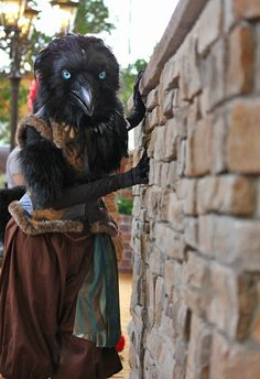 Featherdust - Jennifer Miller, Qaw the Raven This is not my costume! I am...