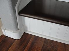 DIY Replace your carpeted stairs with wood, For Instant Beauty... add Elbow Grease: Those Pesky OSB Stairs