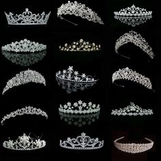 Ok… no secret that I wear a tiara just about every day that I deep clean. When… Ok… no secret that I wear a tiara just about every day that I deep clean. Royal Jewels, Crown Jewels, Cute Jewelry, Hair Jewelry, Jewellery, Tattoo Damen, Wedding Accessories, Hair Accessories, Accessories Display
