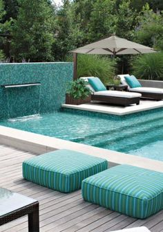 There are many attractive swimming pool designs. Modern pool designs are more amazing creative ideas. There are many attractive swimming pool designs. Modern pool designs are more amazing creative ideas. Swimming Pool Decks, Luxury Swimming Pools, Luxury Pools, Swimming Pool Designs, Indoor Swimming, Indoor Pools, Dream Pools, Modern Landscaping, Pool Landscaping