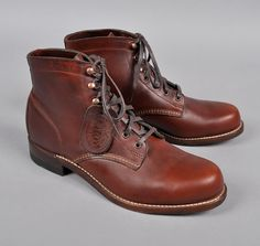 WOLVERINE :: 1000 Mile Boots, Rust