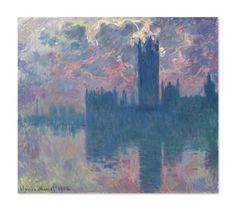 Claude Monet, 'Le Parlement, soleil couchant (The Houses of Parliament, at Sunset),' 1900-1901, Christie's