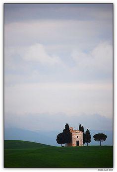 Cappella di Vitaleta, Toscana, Italy