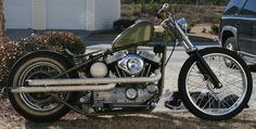 Harley Evo | Bobber Inspiration - Bobbers and Custom Motorcycles | theroadyeah September 2014
