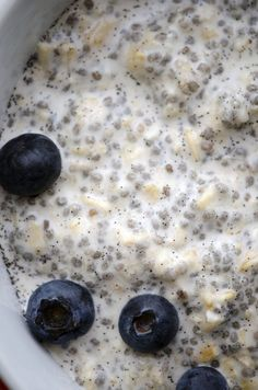 overnight oats with chia seeds Cooper and I love this