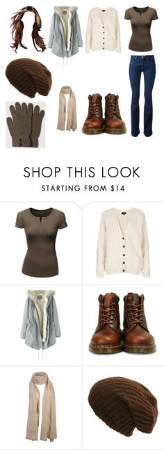 """""""Untitled #11180"""" by iamdreamchaser ❤ liked on Polyvore featuring Doublju, Topshop, Wrap, Victoria Beckham, Dr. Martens and Universal Works"""