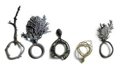 mari ishikawa - cased metal based on botanical forms