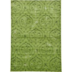 Unique Loom Damask Light Green Area Rug & Reviews | Wayfair
