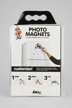 DIY Photo Magnet Kit