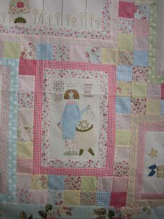 Susanpatch: Angel story quilt TERMINADO Hatch Patch, Anni Downs, Angel Stories, Quilts, Blanket, Angeles, Scrappy Quilts, Noel, Blankets