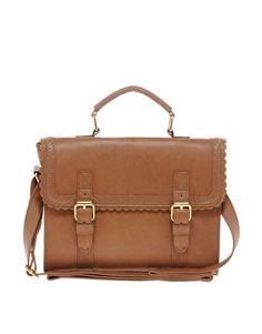 Discover a range of satchels with ASOS. A perfect alternative to a hefty handbag the satchel bag is ideal for a day out. Shop leather satchels to canvas and printed satchels at ASOS. Brown Satchel, Leather Satchel, Asos, Satchel Handbags, Satchel Bag, Christmas Bags, Beautiful Bags, Beautiful Handbags, Fashion Bags