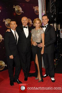 Strictly Come Dancing 2014 launch at Elstree Studios - Bruno Tonioli, Len Goodmen, Darcey Bussell & Craig Revell Horwood