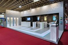 Stand from The Inside stand building for AHC Benelux at the ESEF fair