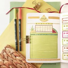 Coffee Theme Bullet Journal Set-up | Heraldeecreates Bullet Journal Tracking, Bullet Journal Monthly Spread, Bullet Journal Set Up, Bullet Journal Cover Page, Bullet Journal Themes, My Journal, Journal Covers, Monthly Themes, My Themes