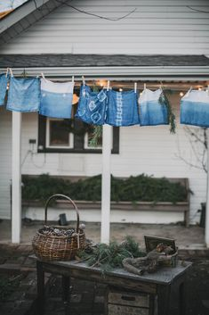 Natural indigo shibori dying (Kinfolk Workshop) via Local Milk Shibori, What A Nice Day, Local Milk, Kinfolk, Slow Living, Nature Decor, Textiles, Nashville, The Help