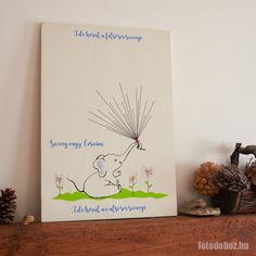 Ujjlenyomat táblaÓvodai ballagásraElefánt → Egyedi ajándék Cover, Books, Art, Usb Drive, Art Background, Libros, Book, Kunst, Performing Arts