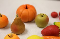 marzipan fruit and veg 1 by yvonnelin1, via Flickr