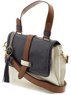 Oval Keeper Small Satchel  by Nanette Lepore