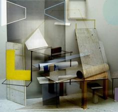 Geometric Abstract Installations-1