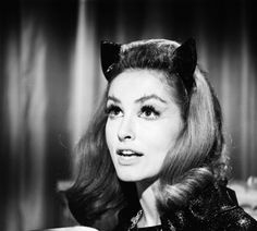Julie Newmar as Catwoman, Batman TV show 1960's