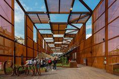Brazil Pavilion at Expo Milano Milão, 2015 - Studio Arthur Casas Folding Architecture, Pavilion Architecture, Organic Architecture, Concept Architecture, Architecture Details, Architecture Portfolio, Residential Architecture, Contemporary Architecture, Landscape Architecture