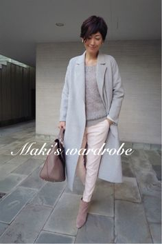 50 Ideas For Moda Fashion Woman Trousers Look Fashion, Fashion Pants, Spring Fashion, Winter Fashion, Womens Fashion, Winter Outfits, Casual Outfits, Stylish Suit, Other Outfits