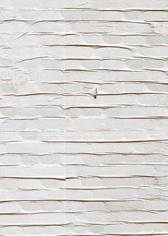 Papierstrukturen die neue Muster für Webstrukturen inspirieren.