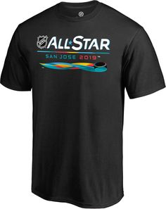 NHL 2019 NHL All-Star Game Overtime Black T-Shirt 32611995e